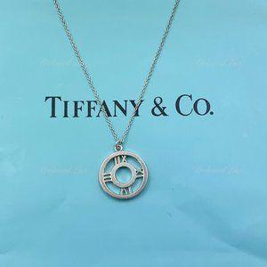 Authentic Tiffany & Co 925 Silver Atlas Necklace